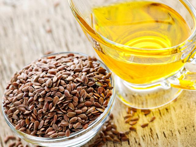 Healthy detox diet - flaxseeds