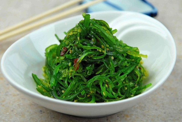 Healthy detox diet - seaweeds