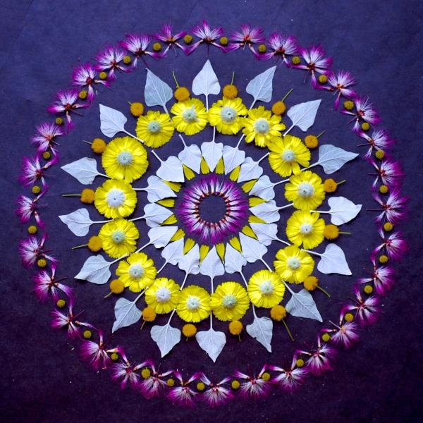 Flower mandala 1