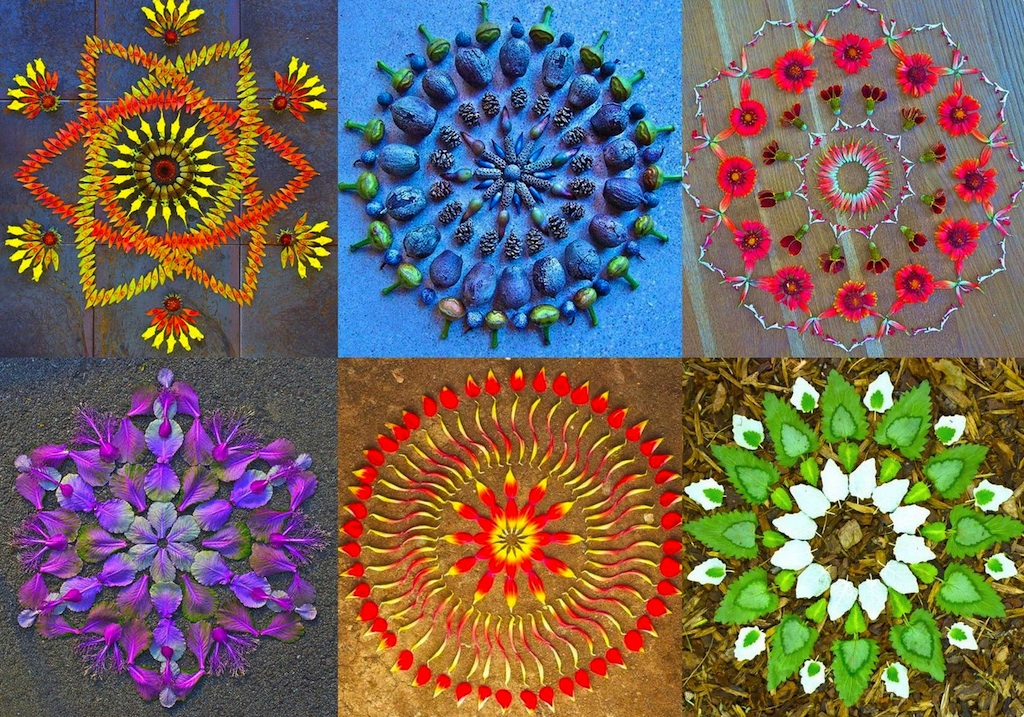 Incredible Flower Mandalas