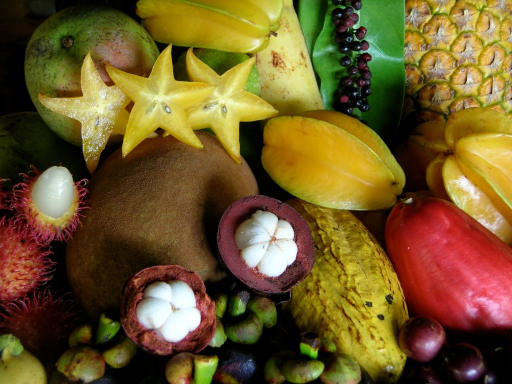 Exotic Fruits Of Asia