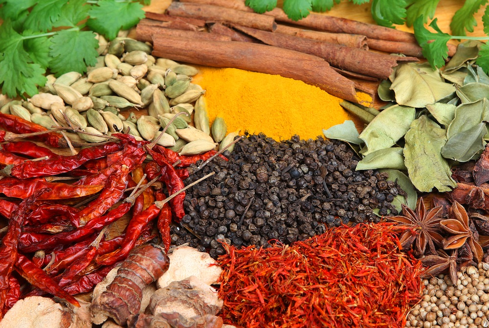 Indian Spices in English and Hindi