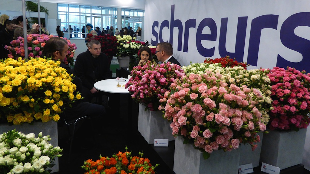 International Flower Exhibition In Ukraine